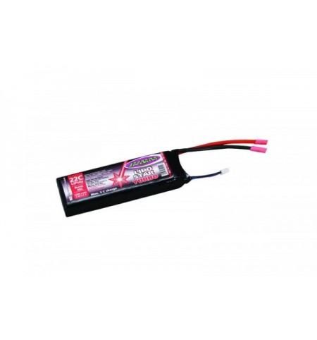 Batteria LipoStar Turbo 2200mAh 7,4V