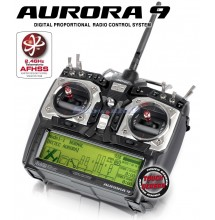 Radiocomando Hitec Aurora 9
