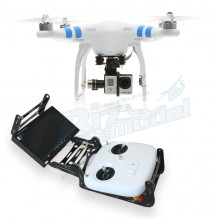 New Phantom 2 + Zenmuse H3-3D + GoPro Black Plus + Supporto Radio+ Monitor e Trasmettitore