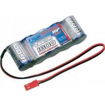 Batteria LRP  VTEC 1600 mAh 6,0 V spinotto BEC