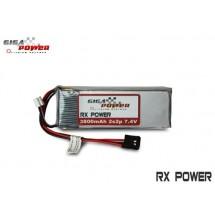 Batteria GigaPower LiPo 7,4V 3800mAh 2S2P